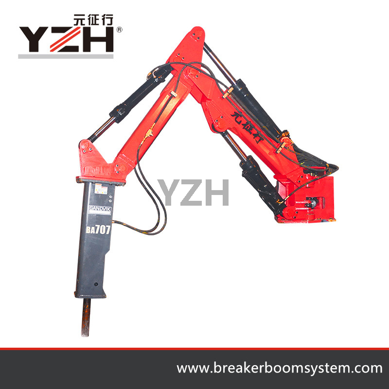 Pedestal Rock Breakers Boom System