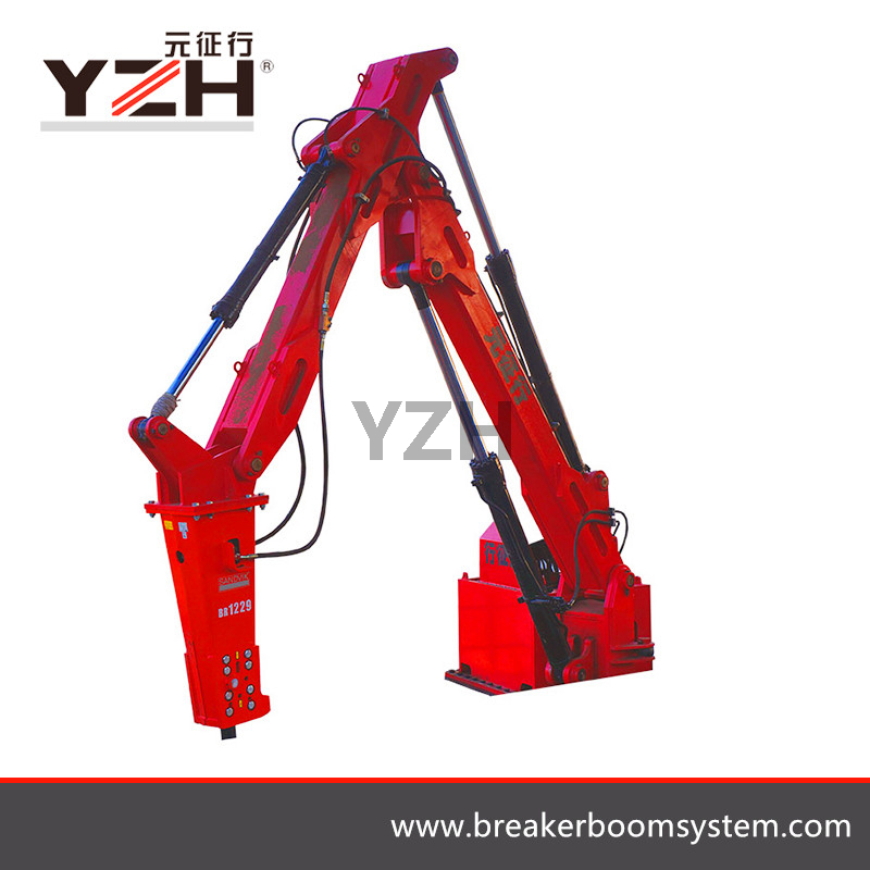Pedestal Rock Breaking Booms System